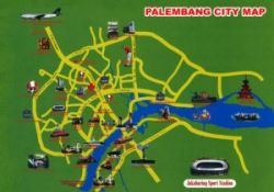 palembang city map